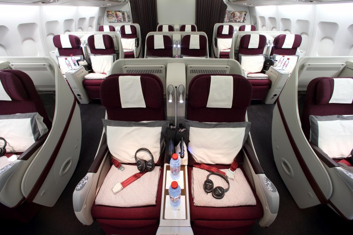 Pic 10 Qatar Airways Airbus A330  Business Class