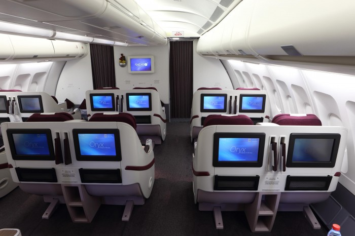 Pic 20 Qatar Airways Airbus A330  Business Class