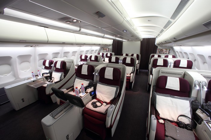 Pic 16 Qatar Airways Airbus A330  Business Class